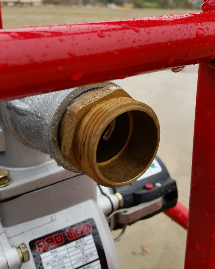 Brass Hose Connection